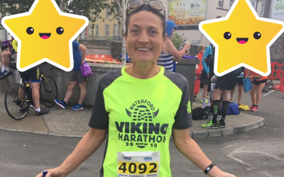 Office Manager Jane runs for Charity